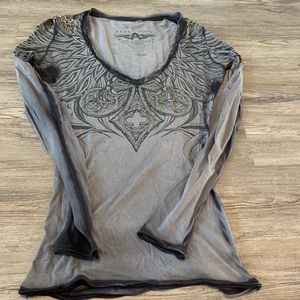 Affliction Long Sleeved Tee